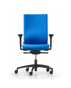 Dauphin @Just magic2 operator AJ 4877 Drehstuhl mit hoher Rückenlehne und Kunststoff-Außenschale