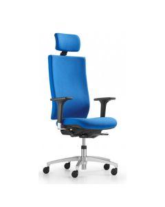 Dauphin @Just magic2 operator AJ 4897 Drehstuhl mit hoher Rückenlehne, Kunststoff-Außenschale und Nackenstütze