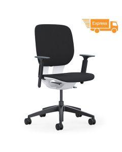Klöber Lim lim98 Drehstuhl mit gepolstertem Sitz und Rücken (Express)