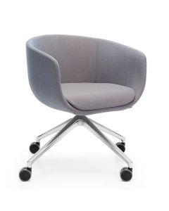 ProfiM Nu 20HC Sessel mit 4-Arm-Fußkreuz auf Rollen