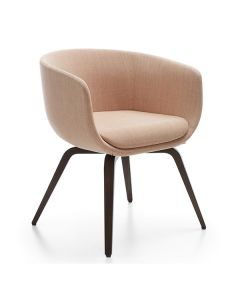 ProfiM Nu 20HW Sessel mit Vierfußgestell aus Holz