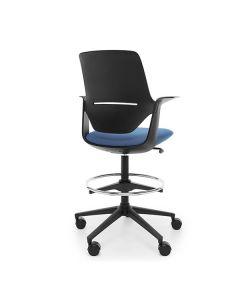 ProfiM TrilloPro 30ST Counterstuhl mit Kunststoffrückenlehne, höhenverstellbar und Sitz gepolstert