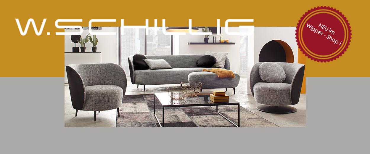 Höchster Komfort mit langer Tradition – W. Schillig online kaufen